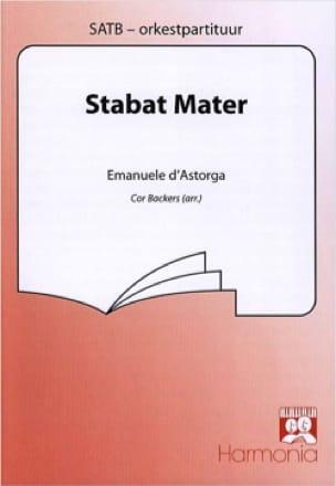 Stabat Mater. - Emanuele d' Astorga - Partition - laflutedepan.com