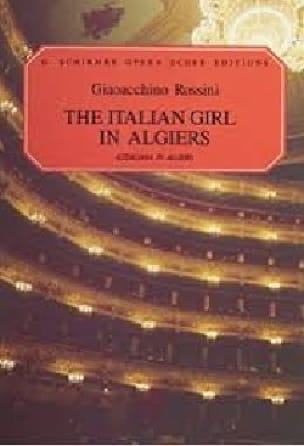 Gioachino Rossini - The italiana In Algeri - Partition - di-arezzo.co.uk