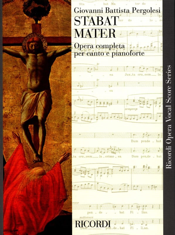 Giovanni Battista Pergolese - Stabat Mater - Partition - di-arezzo.es
