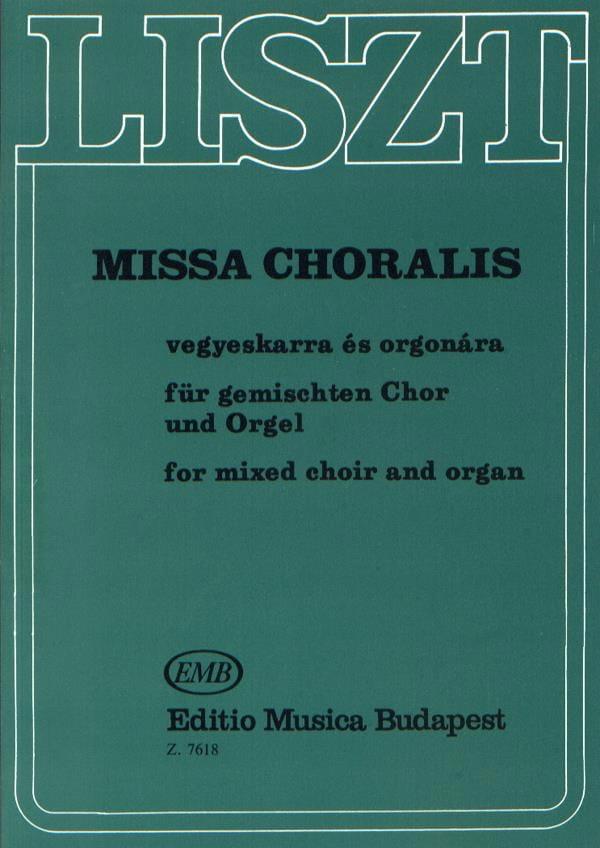 Missa Choralis. - Franz Liszt - Partition - Chœur - laflutedepan.com