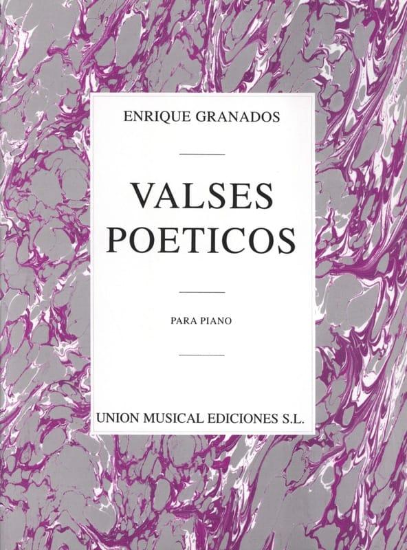 Enrique Granados - Poetic Waltzes - Partition - di-arezzo.co.uk