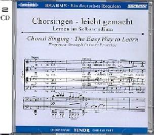 Ein Deutsches Requiem Opus 45. Voix Ténor 2 CD - laflutedepan.com