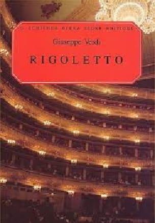 Rigoletto - VERDI - Partition - Opéras - laflutedepan.com