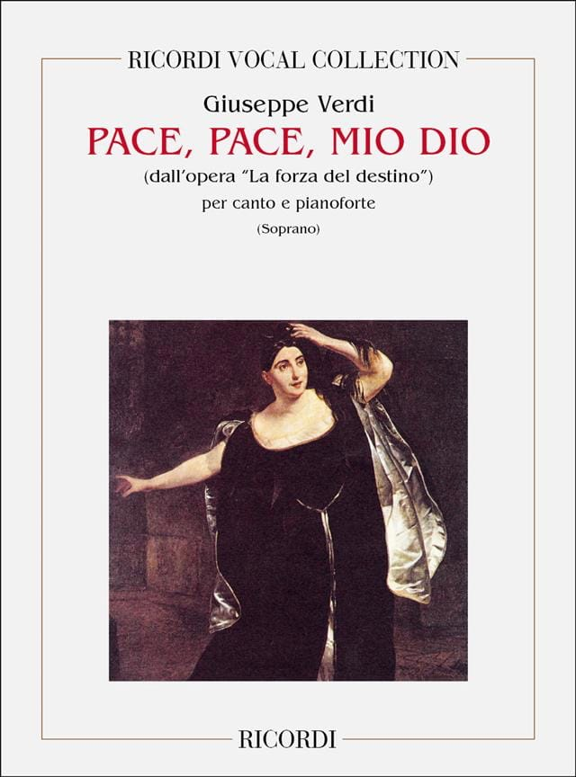 VERDI - Pace, Pace, Mio Dio. Forza Del Destino - Partition - di-arezzo.co.uk