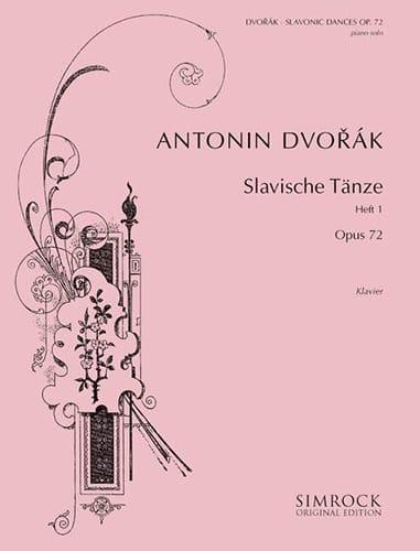 Danses Slaves Opus 72 Volume 1 - DVORAK - Partition - laflutedepan.com