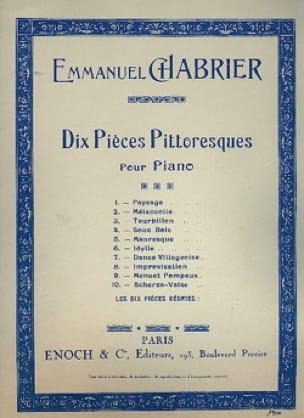 Scherzo-Valse - CHABRIER - Partition - Piano - laflutedepan.com