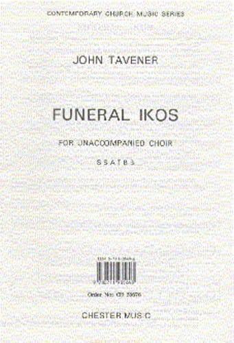 John Tavener - Funeral Ikos - Partition - di-arezzo.es