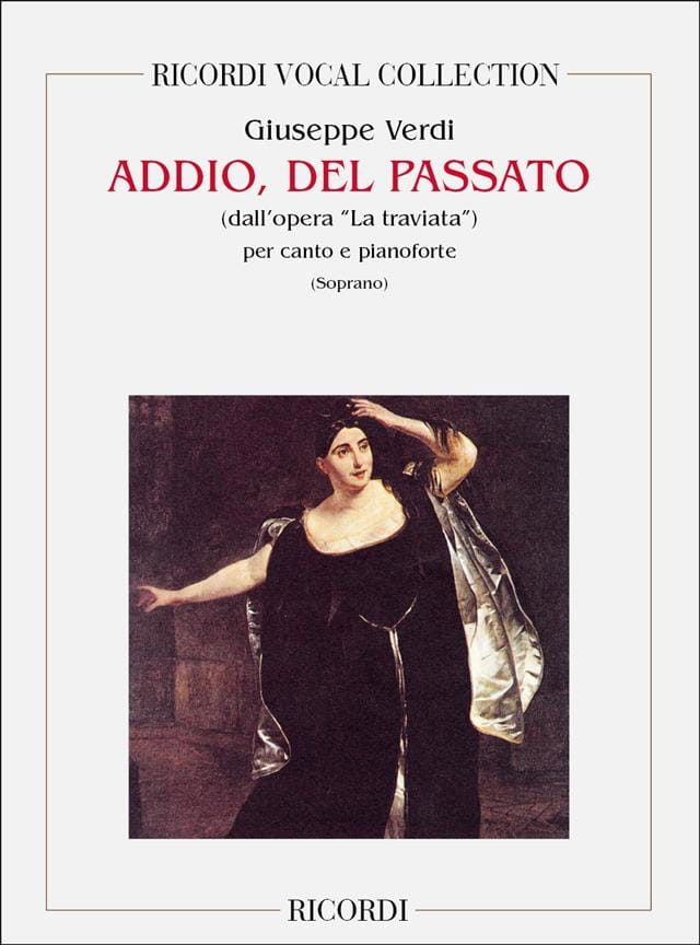 VERDI - Addio Del Passato. the Traviata - Partition - di-arezzo.co.uk