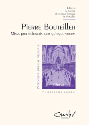 Missa Pro Defunctis Cum 5 Vocum - Pierre Bouteiller - laflutedepan.com