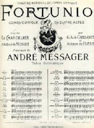 André Messager - Me encantó Old Grey House. Fortuño - Partition - di-arezzo.es