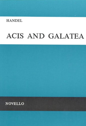 HAENDEL - Acis And Galatea. HWV 49a - Partition - di-arezzo.com