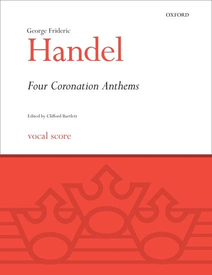 HAENDEL - 4 Coronation Anthems - Partition - di-arezzo.co.uk
