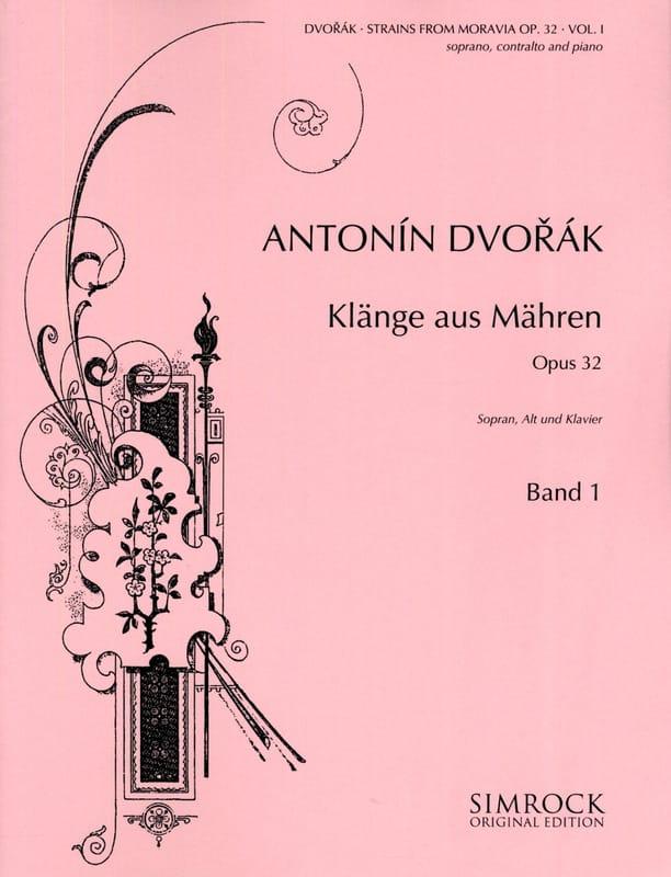 Klänge Aus Mähren Opus 32 Volume 1 - DVORAK - laflutedepan.com