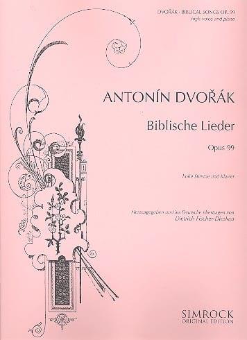 Biblische Lieder Op. 99 Version Fischer-Dieskau Voix Haute - laflutedepan.com