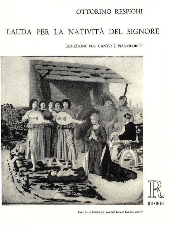 Lauda Per la Nativita Del Signore - RESPIGHI - laflutedepan.com