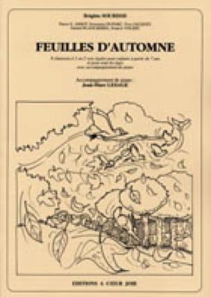 Brigitte Sourisse - Autumn leaves - Partition - di-arezzo.com