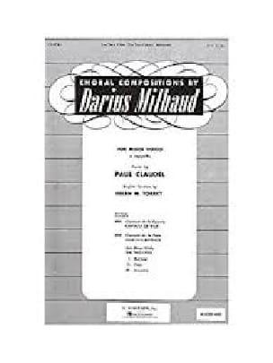 Darius Milhaud - Babylon - Partition - di-arezzo.com