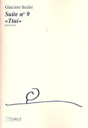 Suite N°9 - Giacinto Scelsi - Partition - Piano - laflutedepan.com