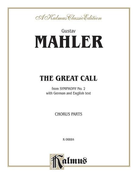 The Great Call, Symphonie N° 2, 5ème Mvt. - MAHLER - laflutedepan.com