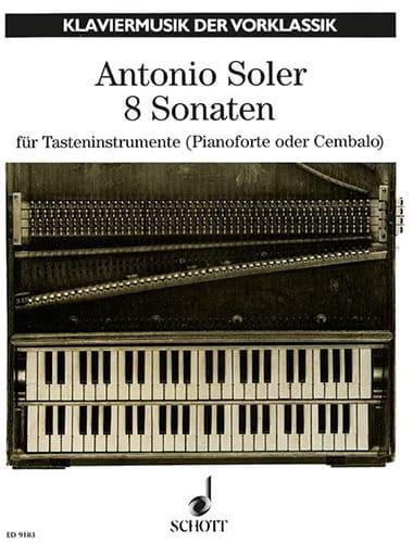 Antonio Soler - 8 Sonaten - Partition - di-arezzo.de
