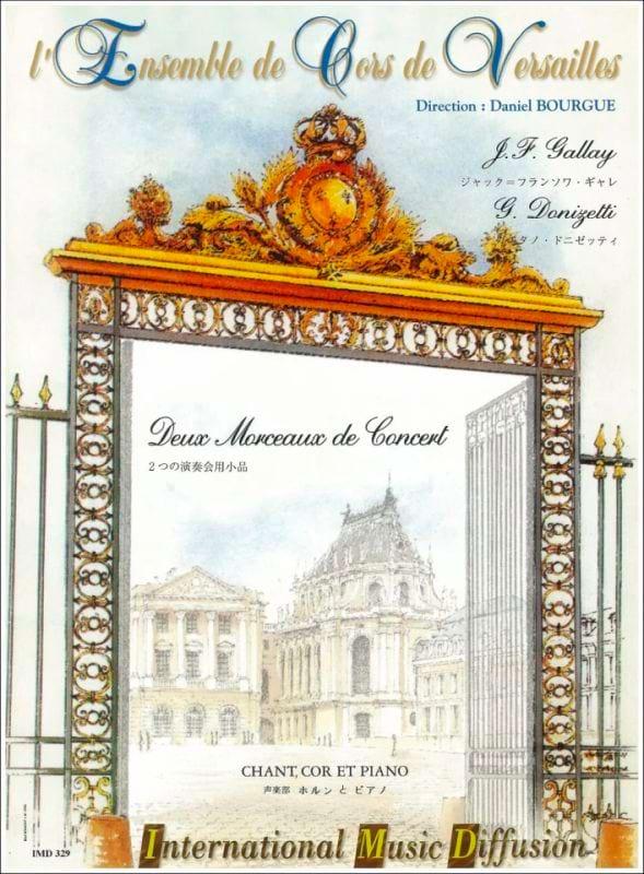 2 Morceaux De Concert - Donizetti Gaetano / Gallay - laflutedepan.com