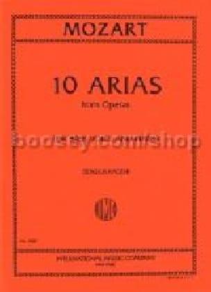 10 Arias From Opera Basse - MOZART - Partition - laflutedepan.com