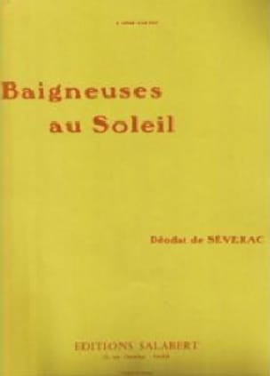 Baigneuses Au Soleil. - Déodat de Séverac - laflutedepan.com