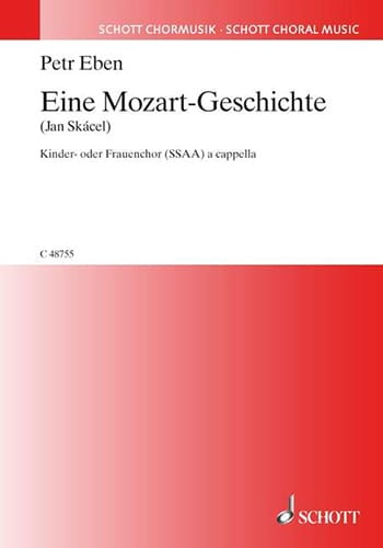 Eine Mozart-Geschichte - Petr Eben - Partition - laflutedepan.com