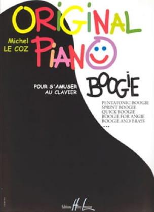 Michel LE COZ - Boogie de piano original - Partition - di-arezzo.es