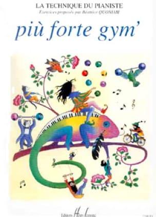 Piu Forte Gym' - Partition - Piano - laflutedepan.com
