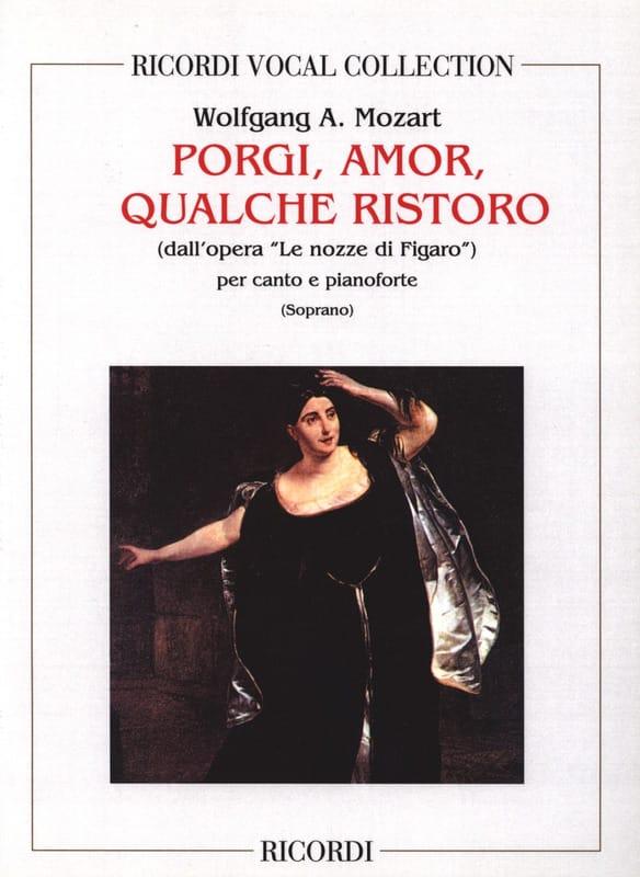 MOZART - Porgi Amor. Nozze Di Figaro - Partition - di-arezzo.co.uk