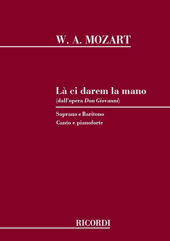 MOZART - There Ci Darem la Mano. Don Giovanni - Partition - di-arezzo.com