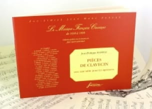 Jean-Philippe Rameau - Harpsichord Pieces With Table For Amenities - Partition - di-arezzo.co.uk