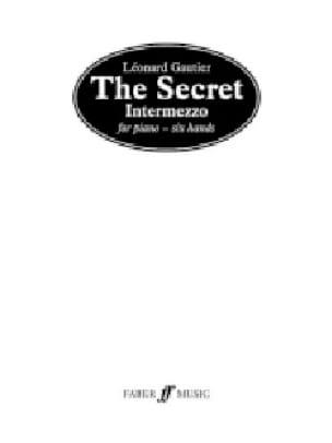 The Secret. 6 Mains - Léonard Gautier - Partition - laflutedepan.com