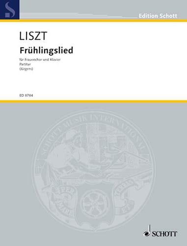 Franz Liszt - Frühlingslied - Partition - di-arezzo.fr