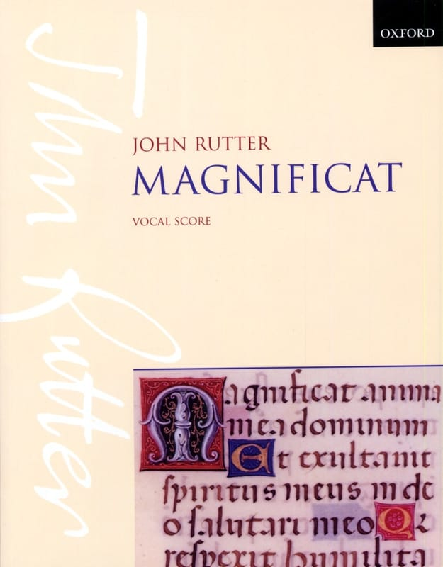 John Rutter - Magnificat - Partition - di-arezzo.co.uk