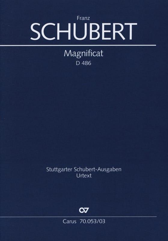 Magnificat en Do Majeur D 486 - SCHUBERT - laflutedepan.com