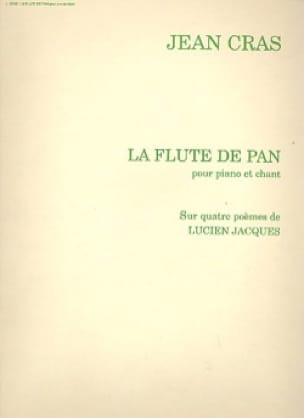 La Flûte De Pan - Jean Cras - Partition - Mélodies - laflutedepan.com