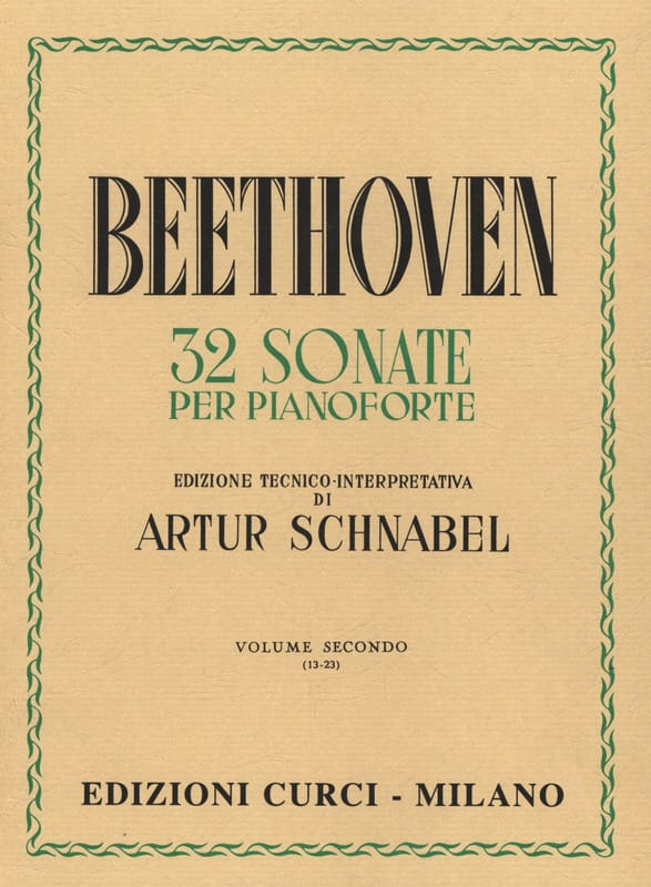 BEETHOVEN - Sonatas Volume 2 - Partition - di-arezzo.co.uk