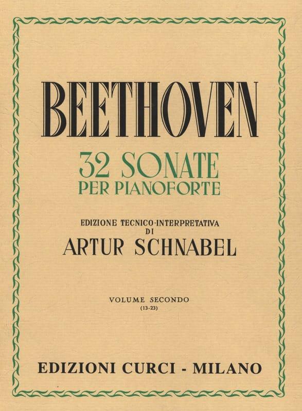 BEETHOVEN - Sonatas Volume 2 - Partition - di-arezzo.com