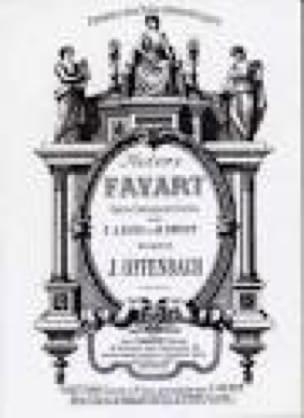 Madame Favart - OFFENBACH - Partition - Opéras - laflutedepan.com