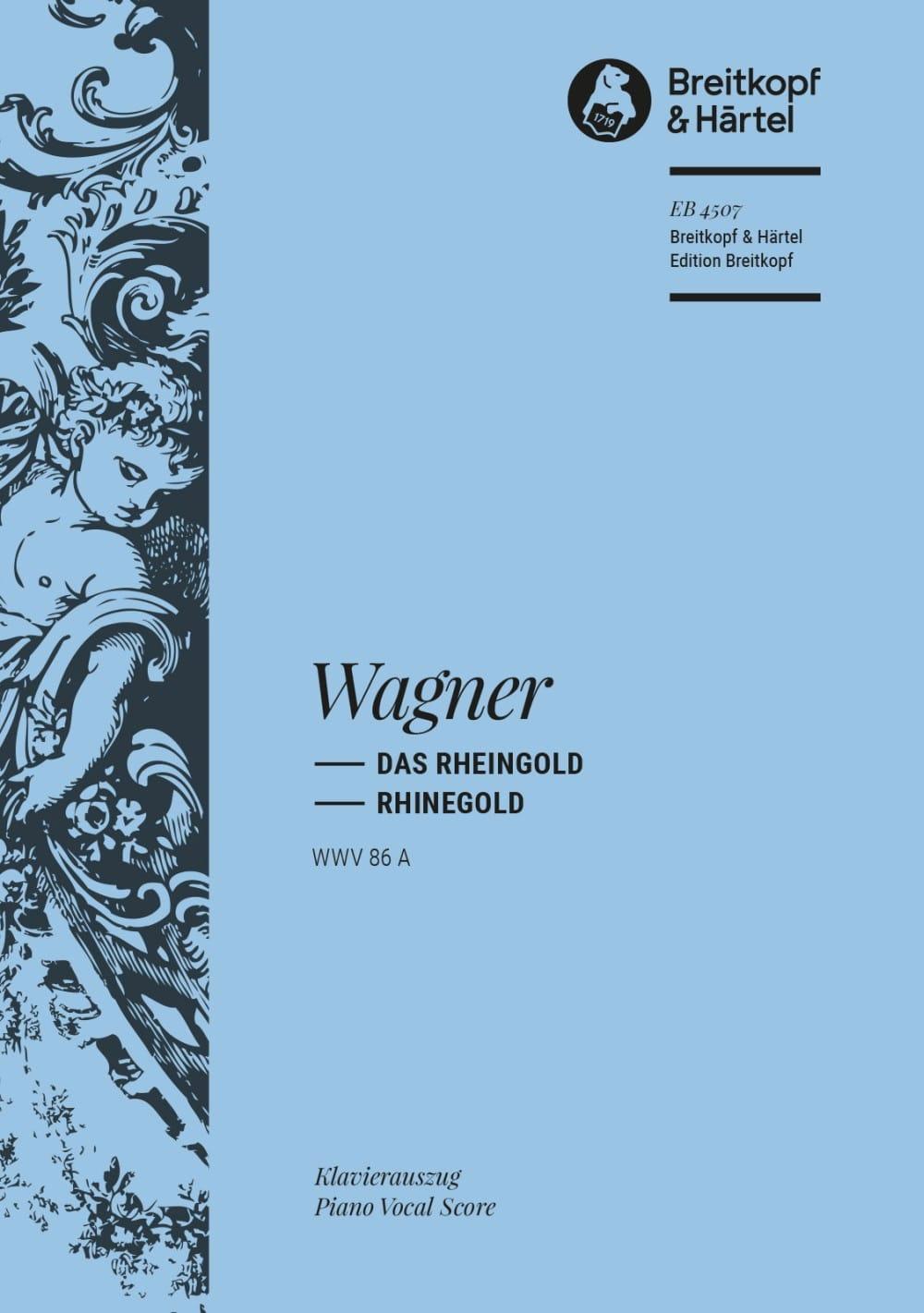 Richard Wagner - Das Rheingold Wwv 86a - Partition - di-arezzo.com
