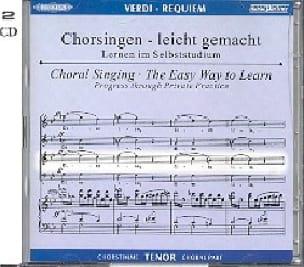 Requiem. CD Ténor - VERDI - Partition - Chœur - laflutedepan.com