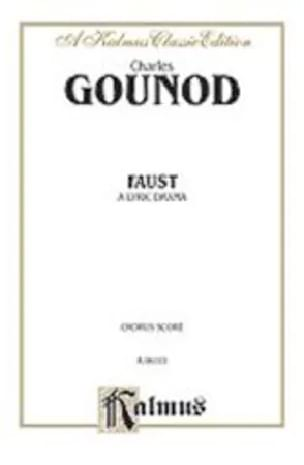 Charles Gounod - Faust. choirs - Partition - di-arezzo.co.uk