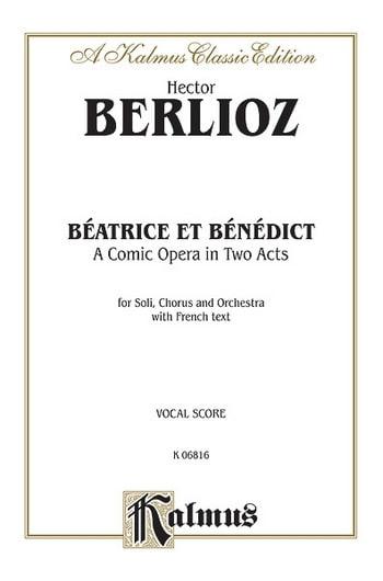 BERLIOZ - Beatrice and Benedict - Partition - di-arezzo.com