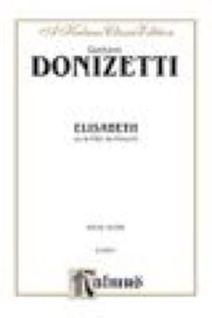 Elisabeth - DONIZETTI - Partition - Opéras - laflutedepan.com