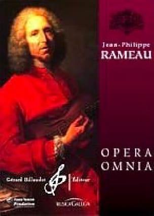 Jean-Philippe Rameau - Achanthus and Cephise - Partition - di-arezzo.co.uk