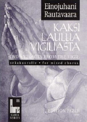 Einojuhani Rautavaara - Kaksi Laulua Vigiliasta - Partition - di-arezzo.co.uk
