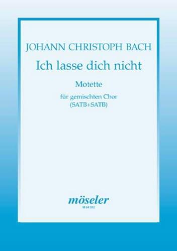 Ich Lasse Dich Nicht - Johann Christian Bach - laflutedepan.com