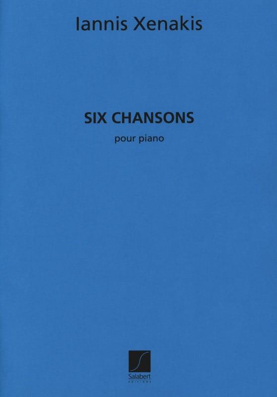 Iannis Xenakis - 6 Songs - Partition - di-arezzo.com